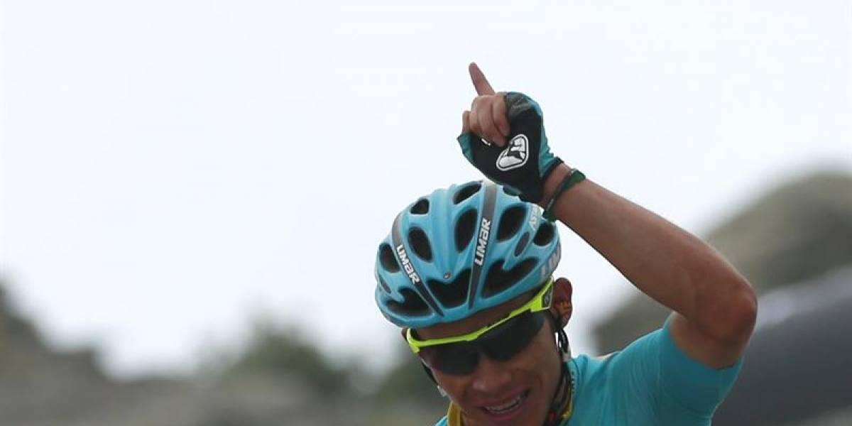 Miguel Ángel López gana etapa y es segundo en el Tour de Omán