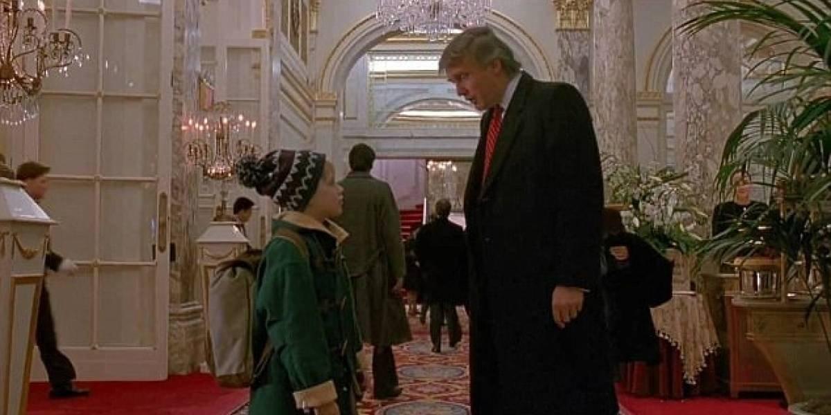 """¿Por qué Donald Trump aparece en """"Mi pobre angelito 2"""""""