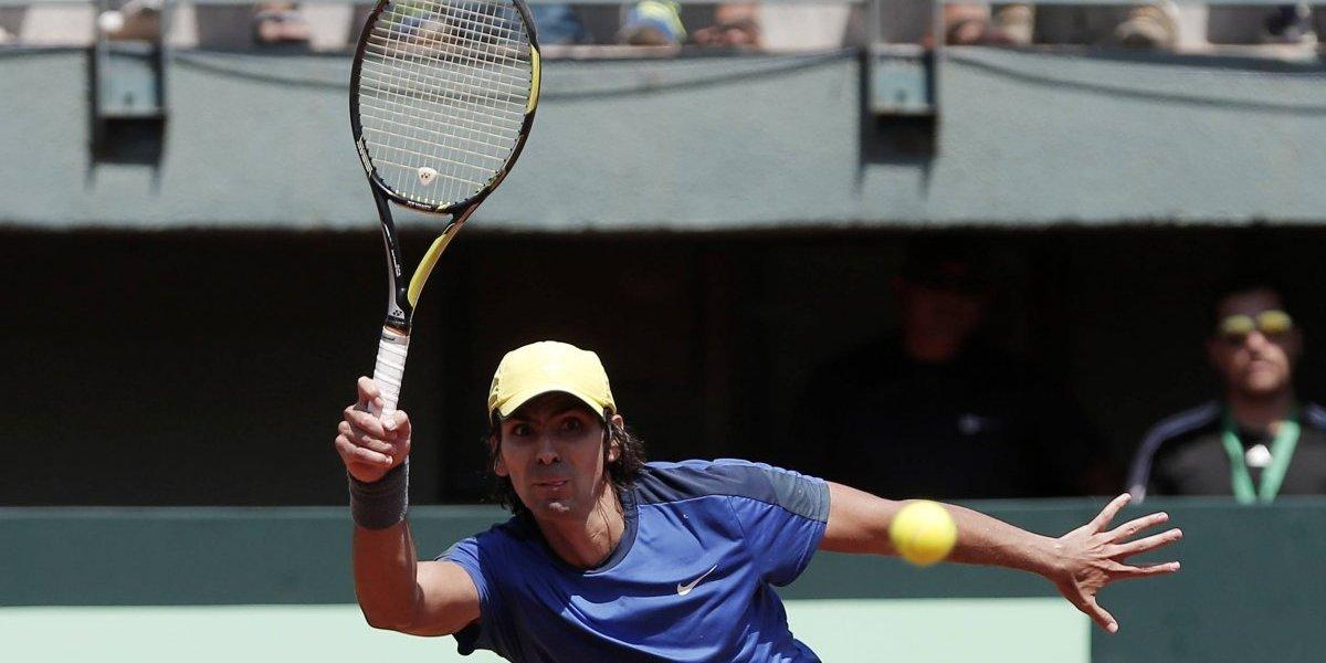 Julio Peralta se despidió del US Open