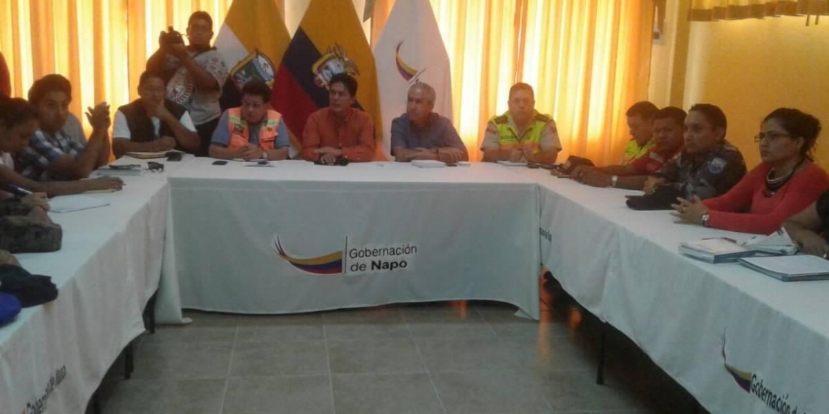 Declaran emergencia en Tena después de inundaciones