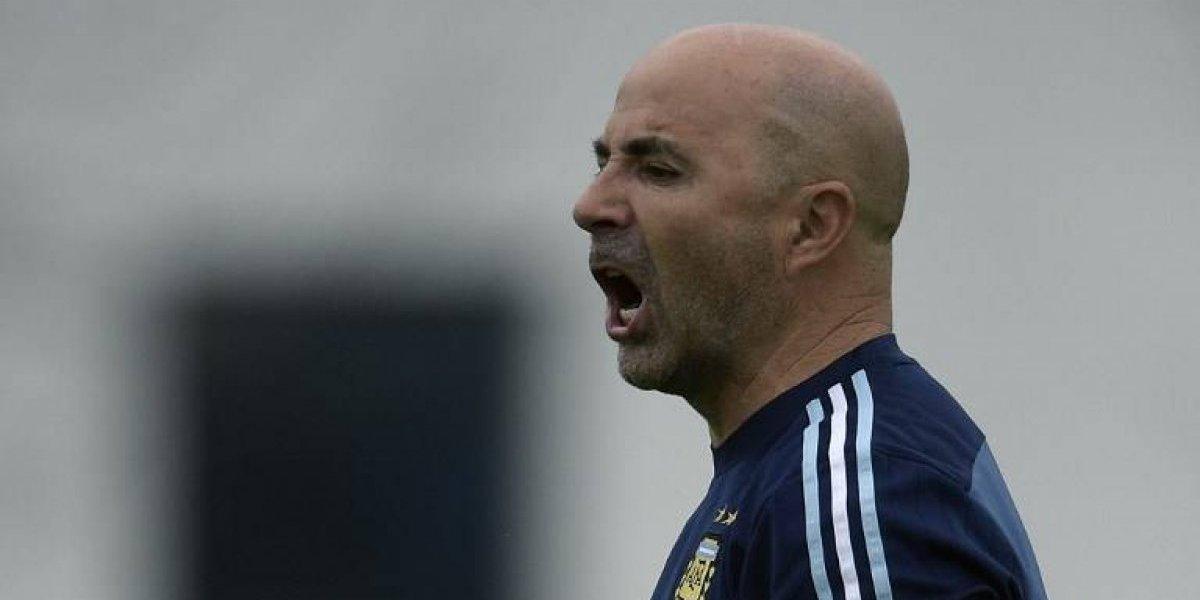 """Sampaoli pone la alerta en Argentina: """"Sólo nos sirve ganar, no veo otra alternativa"""""""