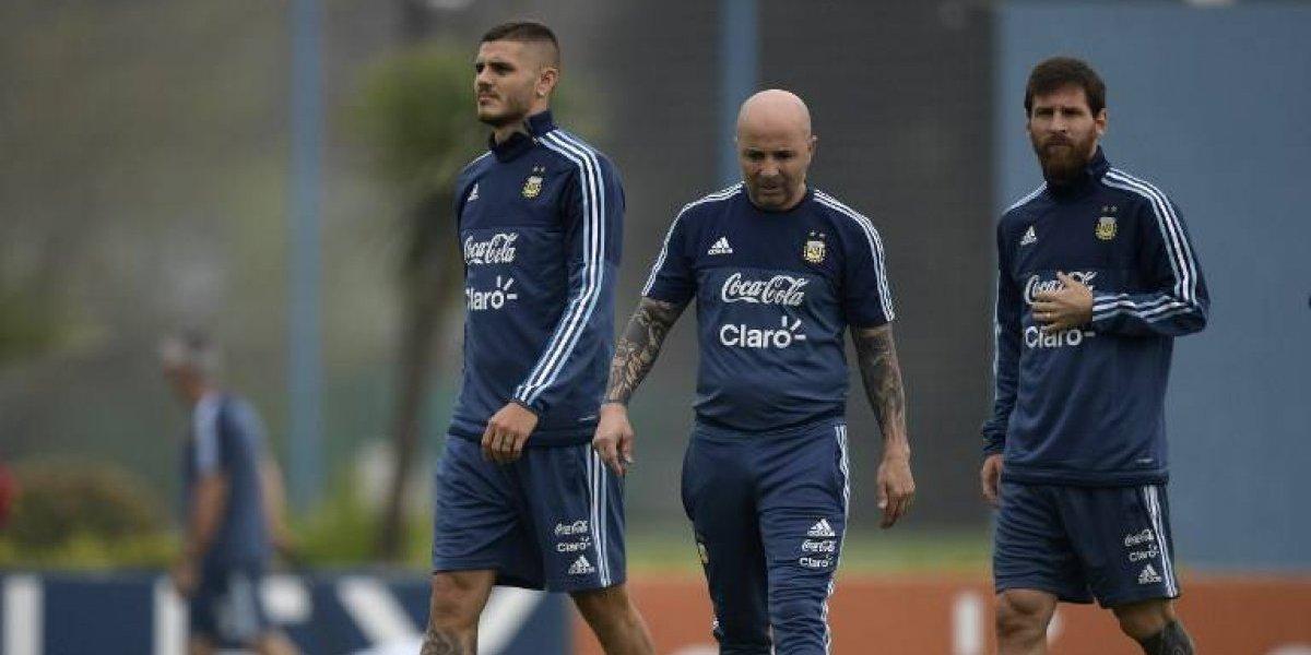 "Maradona criticó a Sampaoli: ""Si quisieron encontrar en Icardi a Batistuta, le erraron muy lejos"""