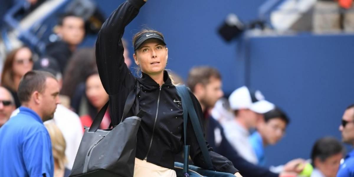 El polémico paso de Maria Sharapova por el US Open: sus colegas festejaron su derrota