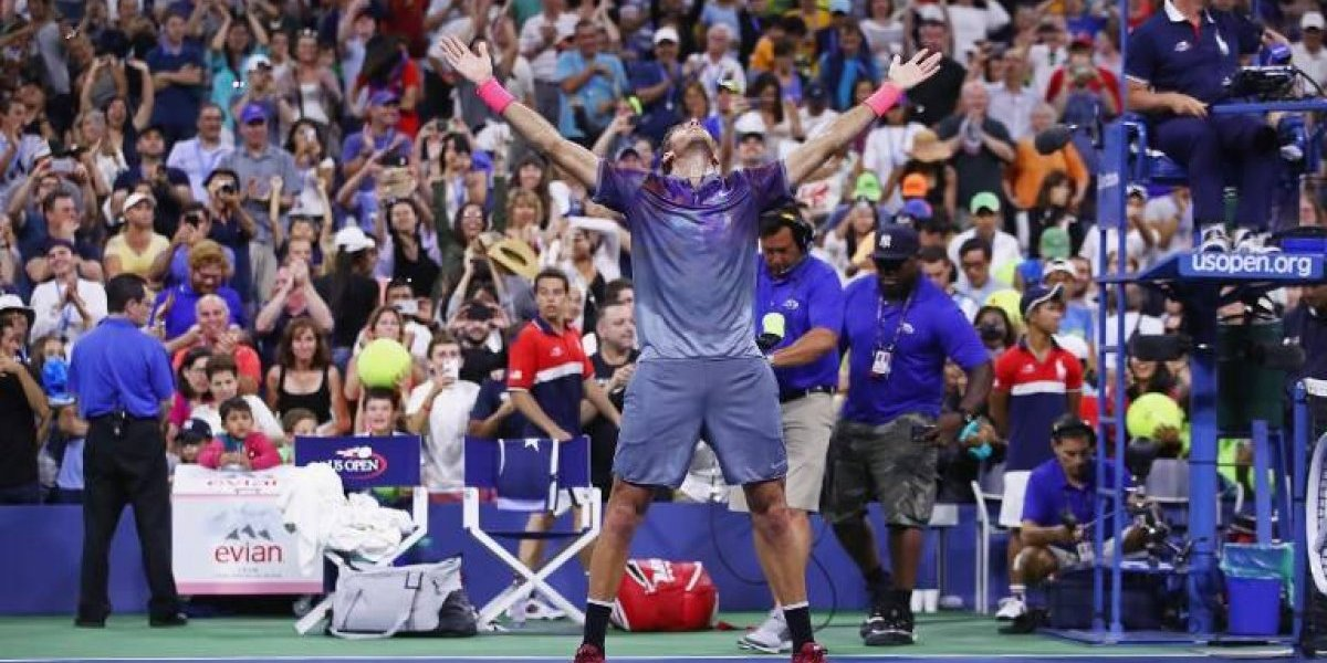Del Potro nuevamente dio cátedra en el US Open y espera por Federer