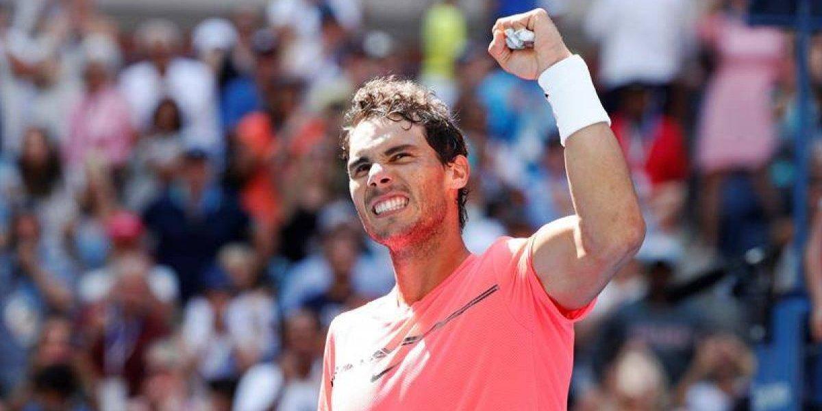 Nadal dio cátedra en el US Open y presentó candidatura al título