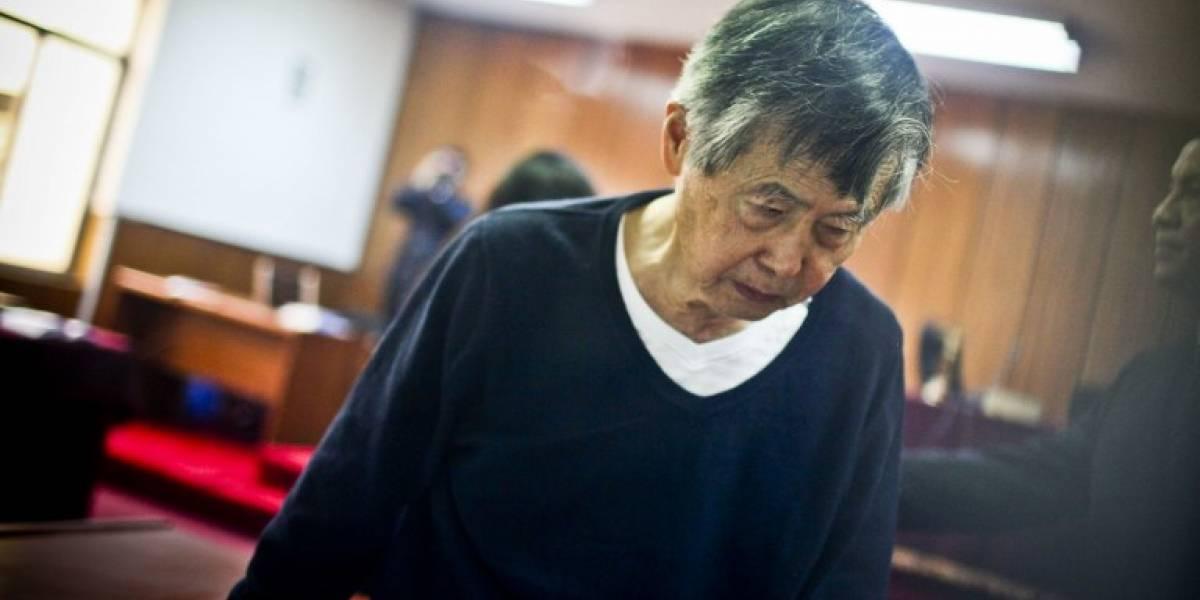 Alberto Fujimori deja la clínica y vuelve a prisión