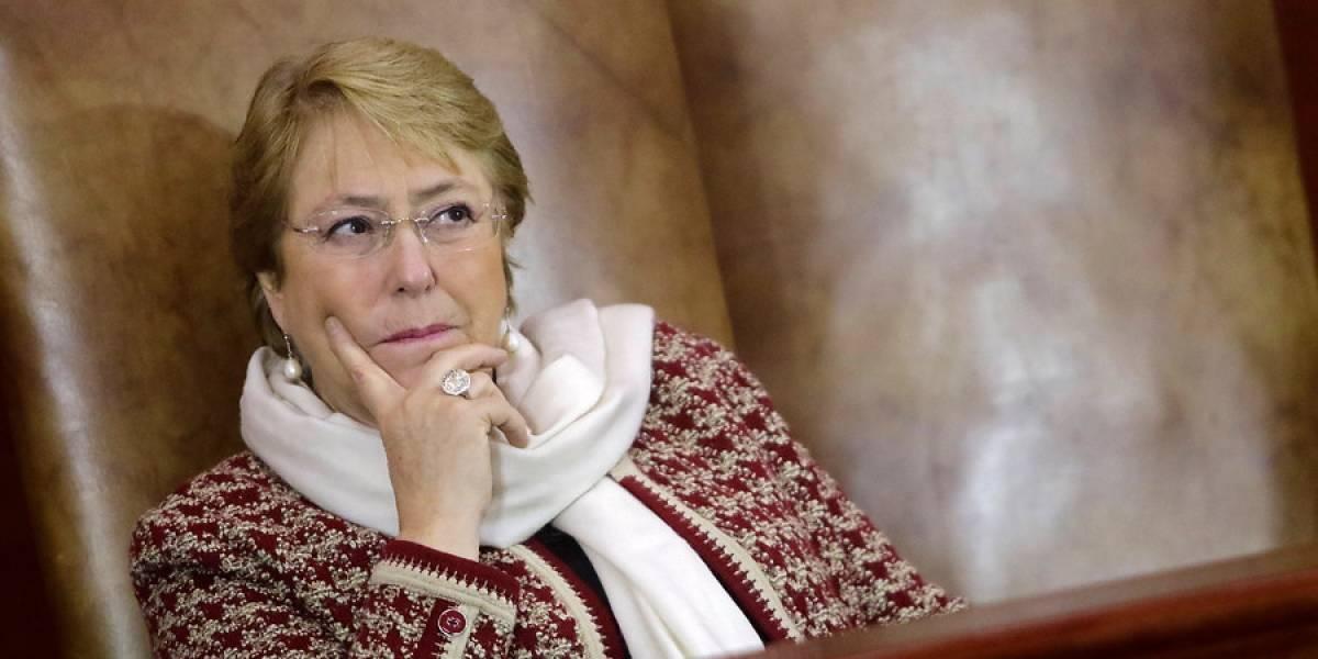 Adimark: Aprobación de Bachelet sube 3 puntos y llega al 35% en agosto