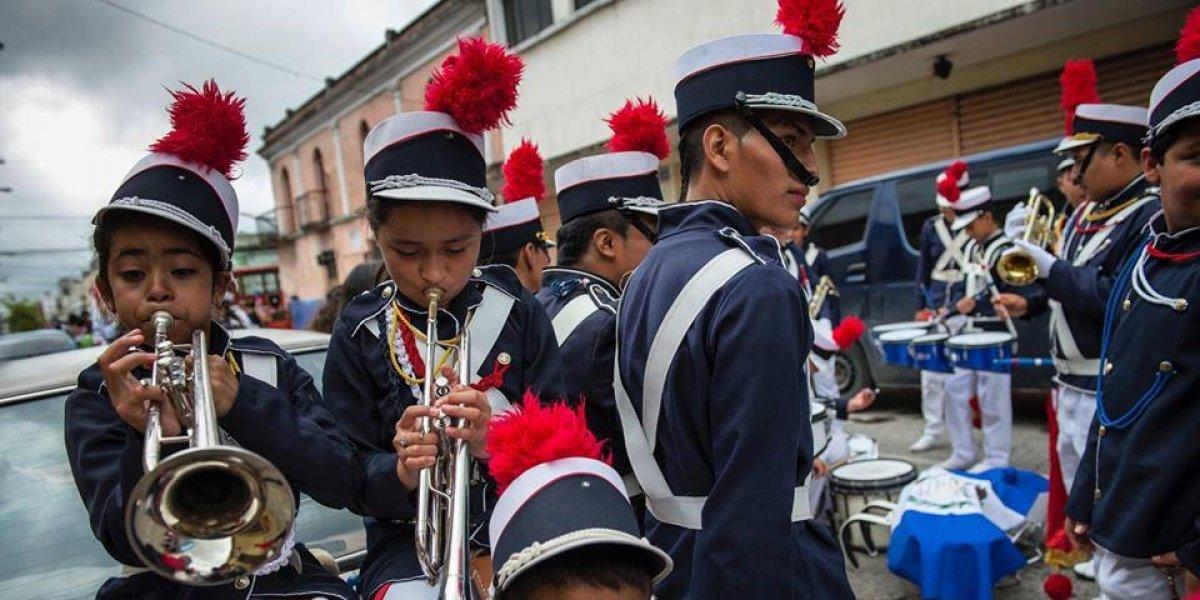 Se abre convocatoria para participar en un concurso de bandas escolares en Guatemala