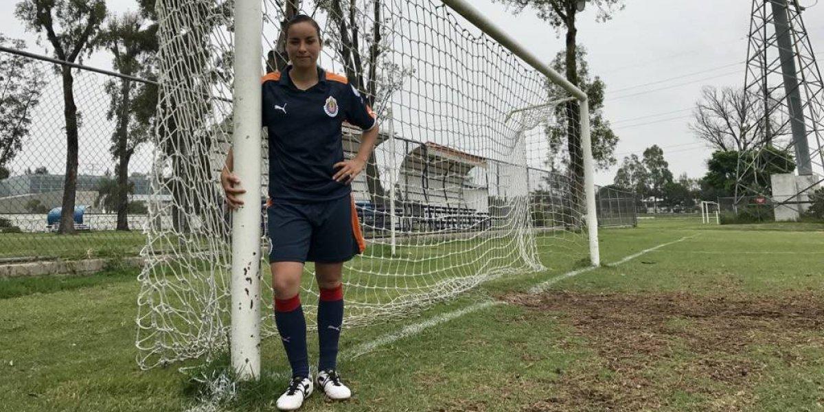 Brenda Viramontes, la delantera que recuperó la confianza en Chivas