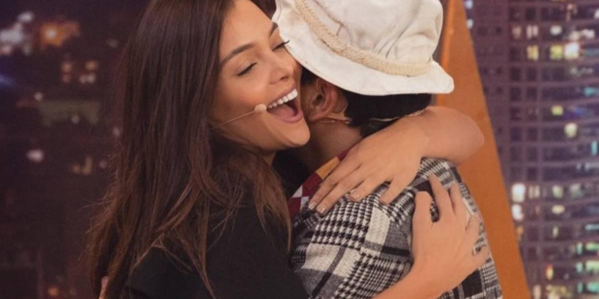 Suso y la protagonista de 'Los Morales' se besaron en televisión