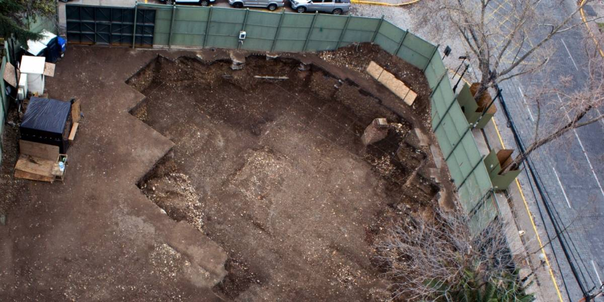 Encuentran cementerio indígena en excavaciones de la Línea 6 del Metro