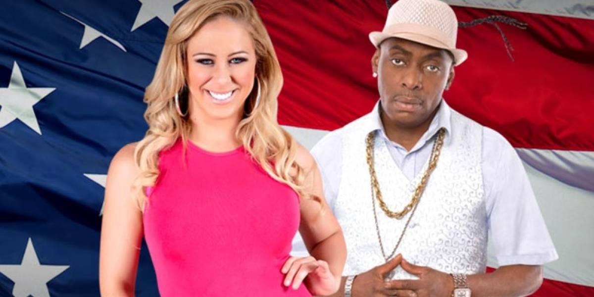 Actriz porno lanza campaña para ser presidenta de EEUU junto a famoso rapero, una conejita Playboy y una ex estrella de la WWE