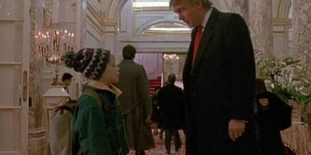 ¿Por qué Donald Trump aparece en 'Mi pobre angelito 2'?