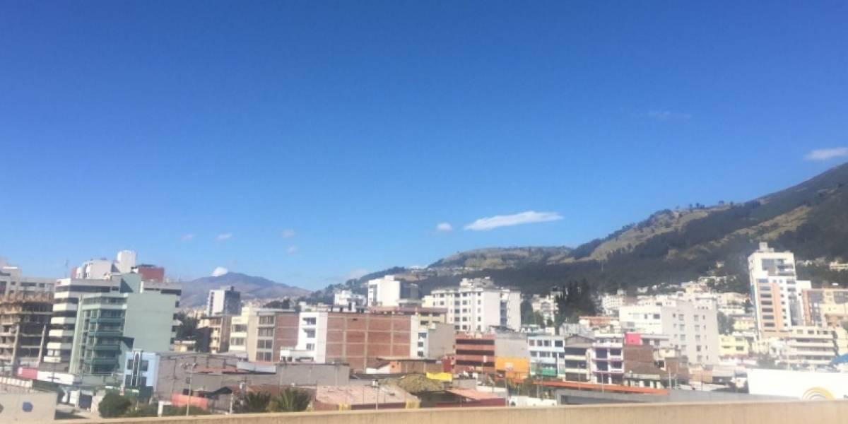Sur de Quito registró la temperatura más baja a nivel nacional