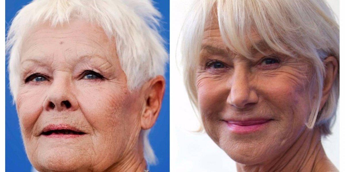 Judi Dench y Helen Mirren, dos reinas de la actuación lucen en Venecia