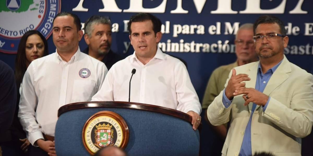Rosselló declara estado de emergencia por huracán Irma