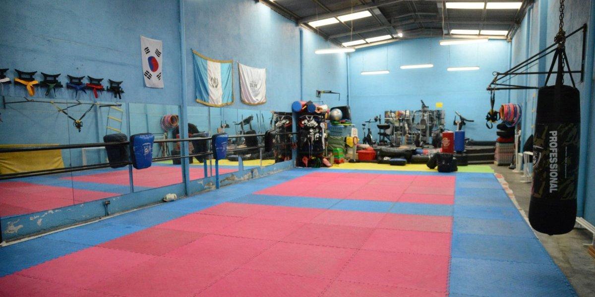 En este gimnasio entrena uno de los mejores taekwondistas del mundo