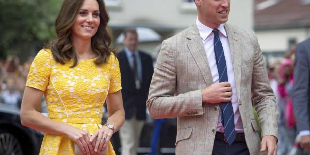 El duque y la duquesa de Cambridge esperan su tercer hijo