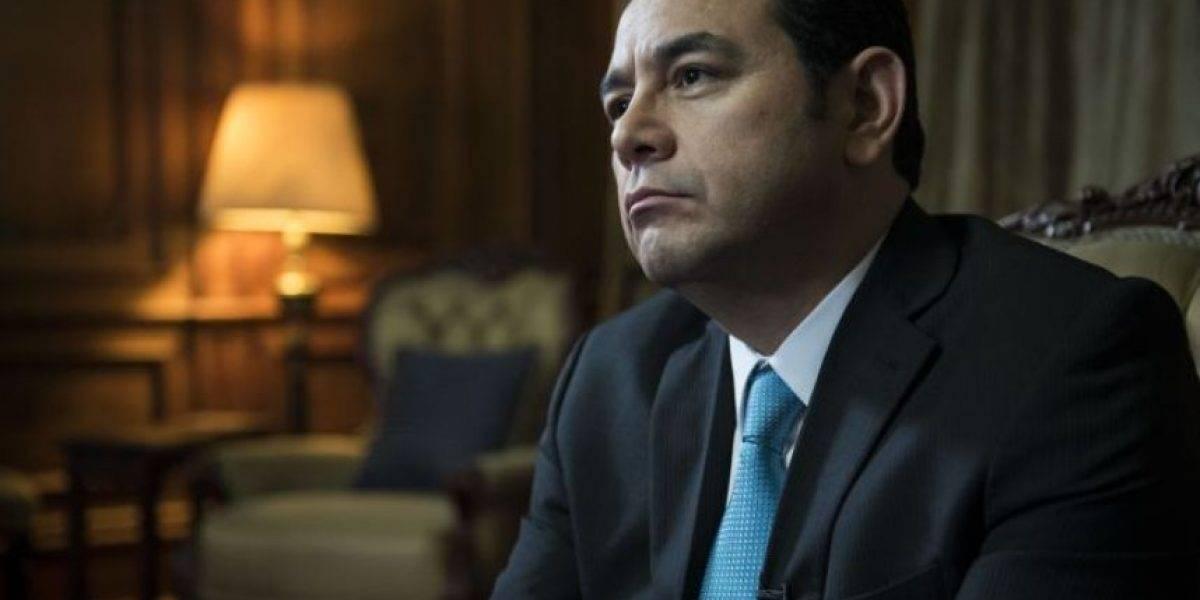 """""""Solicito a todos los guatemaltecos su objetividad, madurez y compromiso"""", Jimmy Morales tras avance de antejuicio"""