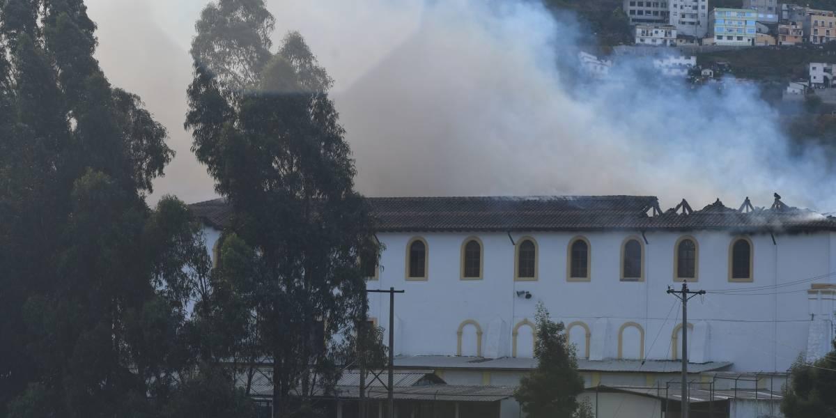 Colegio Fernández Salvador acogerá a estudiantes de unidad incendiada