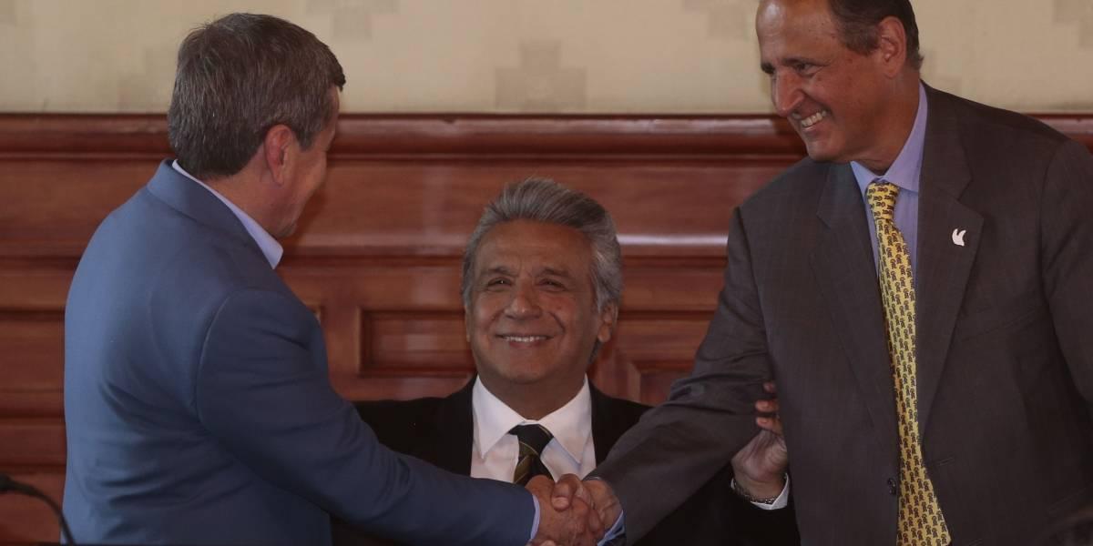 Lenín Moreno habló sobre acuerdo de cese al fuego entre Colombia y ELN