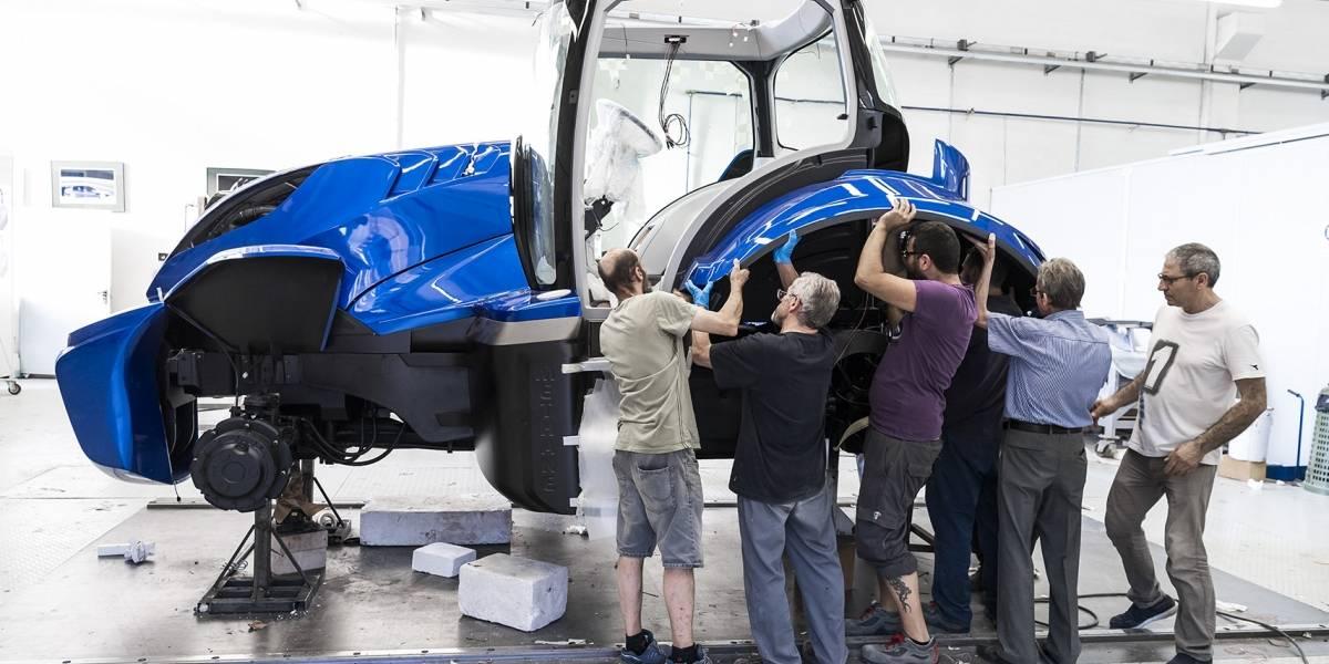 Un tractor cuyo combustible es el metano es la apuesta a futuro de New Holland