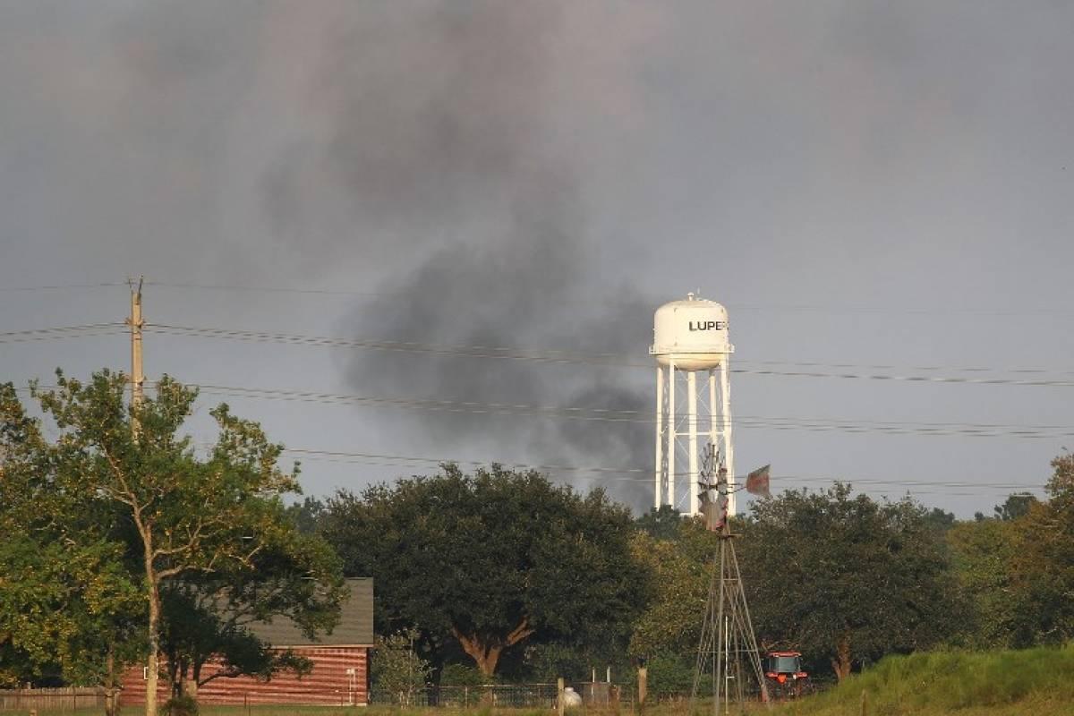 Explosiones en planta química de Crosby, Texas