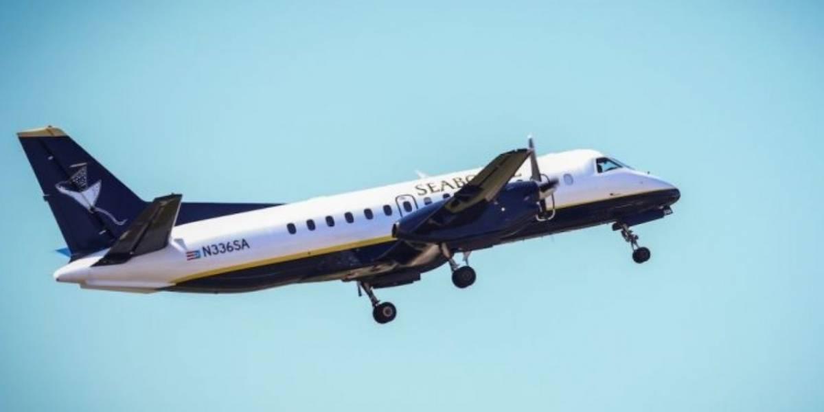 Seaborne cancela vuelos por paso del huracán Irma