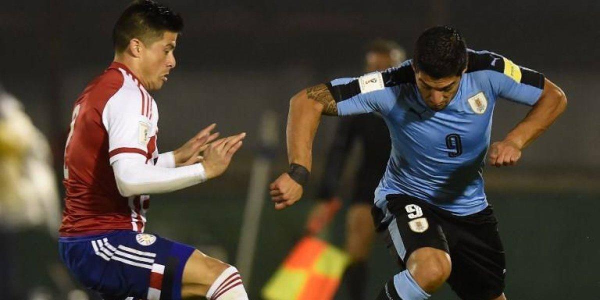 """Minuto a minuto: Paraguay choca con Uruguay en duelo de """"seis puntos"""" rumbo a Rusia 2018"""
