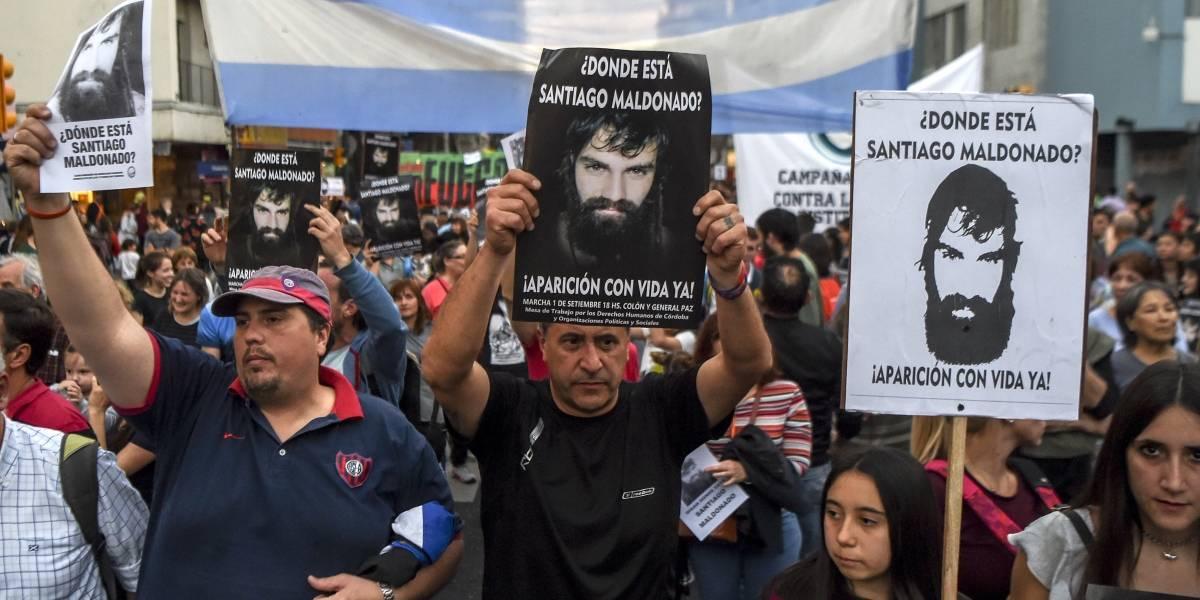Se derrumba la teoría del gobierno de Macri por desaparición de Santiago Maldonado
