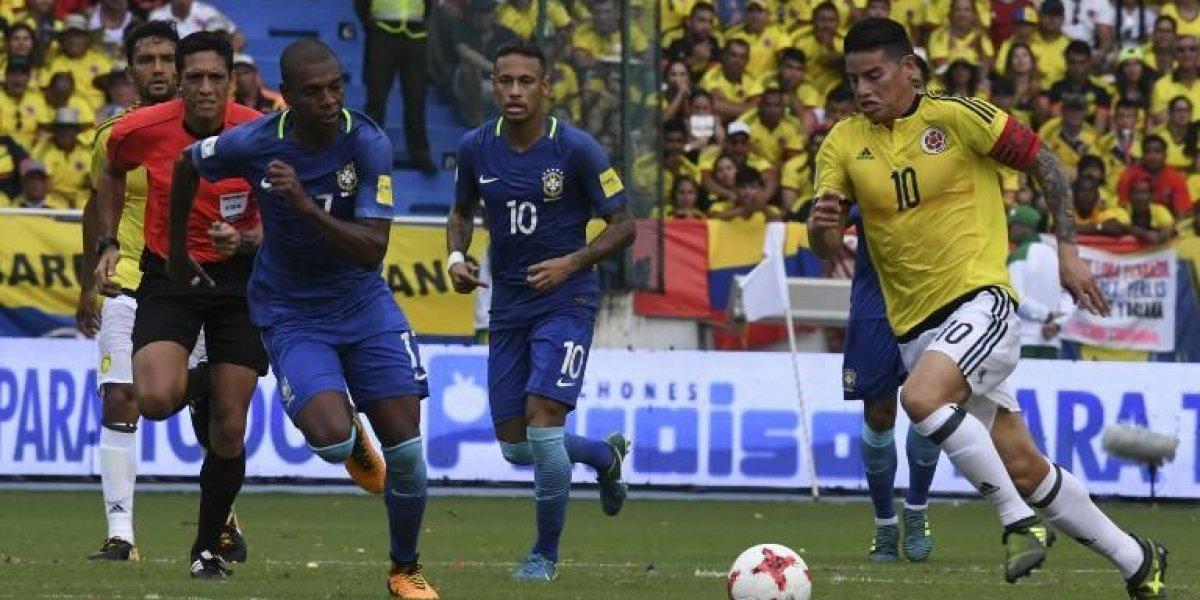 Así vivimos el empate de Colombia ante Brasil rumbo a Rusia 2018