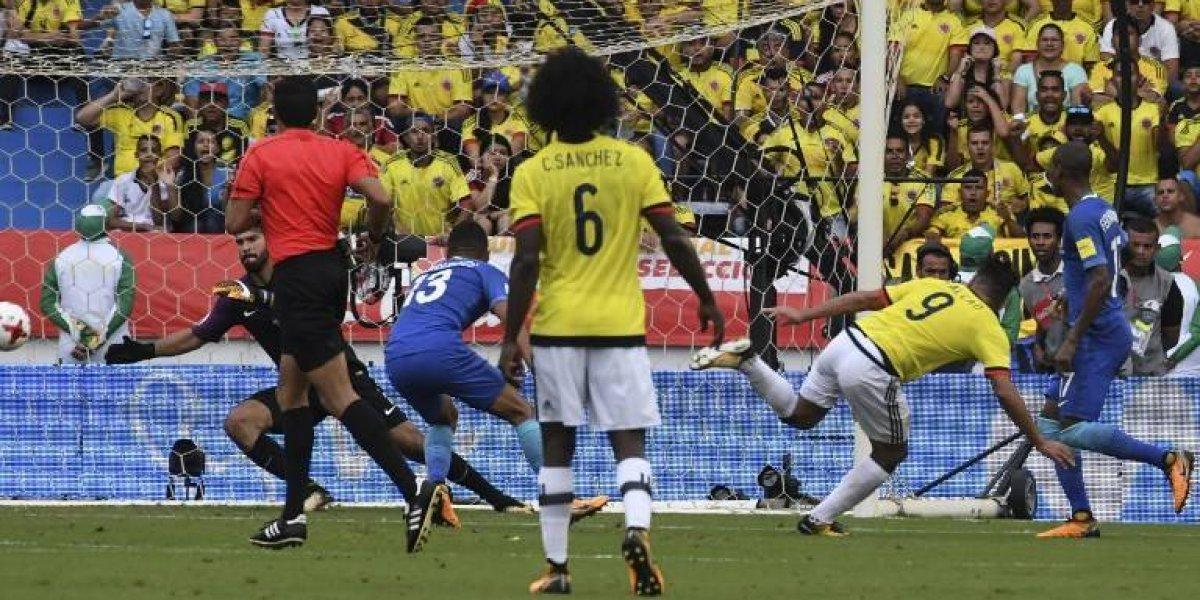 Colombia rescató un empate valioso con Brasil y se acercó al Mundial de Rusia