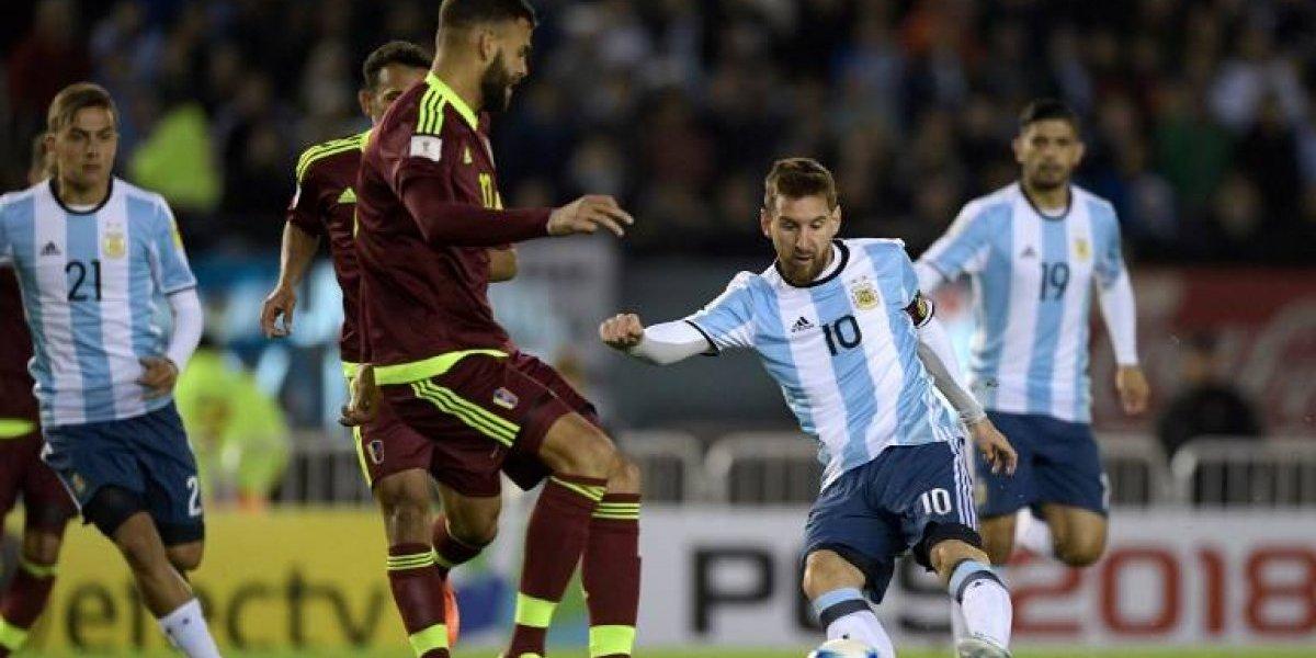 Así vivimos el partido de la Argentina de Messi y Sampaoli que no pudo con la eliminada Venezuela