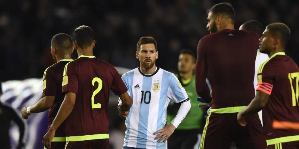 Venezuela sorprendió a la Argentina de Sampaoli y le dio una mano gigante a La Roja