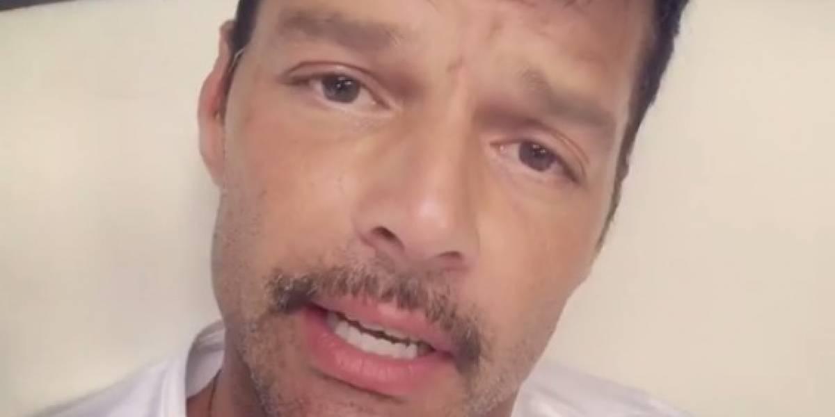 Ricky Martin preocupado por Puerto Rico tras el paso del huracán Irma
