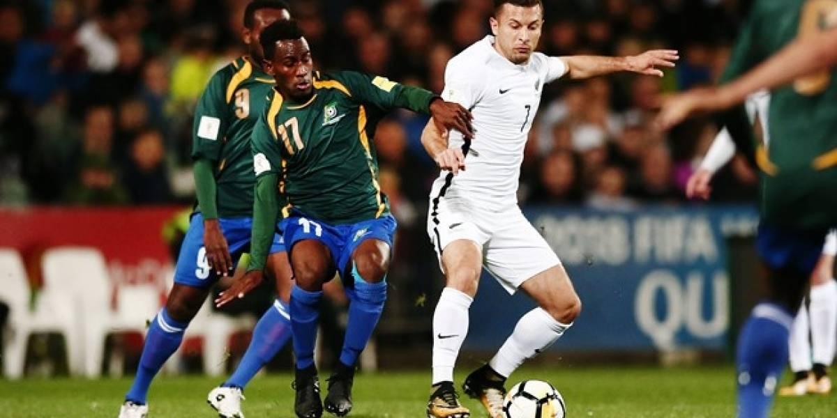 ¿Rival de Chile? Nueva Zelanda apenas empató con Islas Salomón y logró un cupo en el repechaje para el Mundial