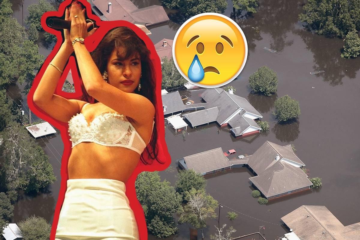 Mueren seis familiares de Selena Quintanilla por huracán Harvey