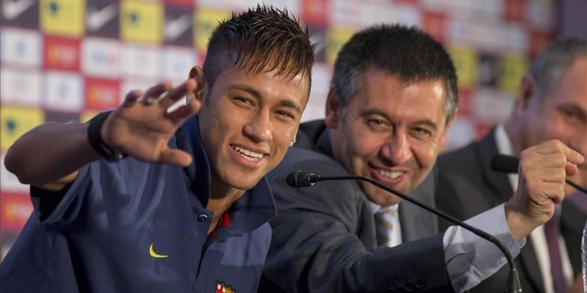 Duras y directas declaraciones de Bartomeu sobre Neymar