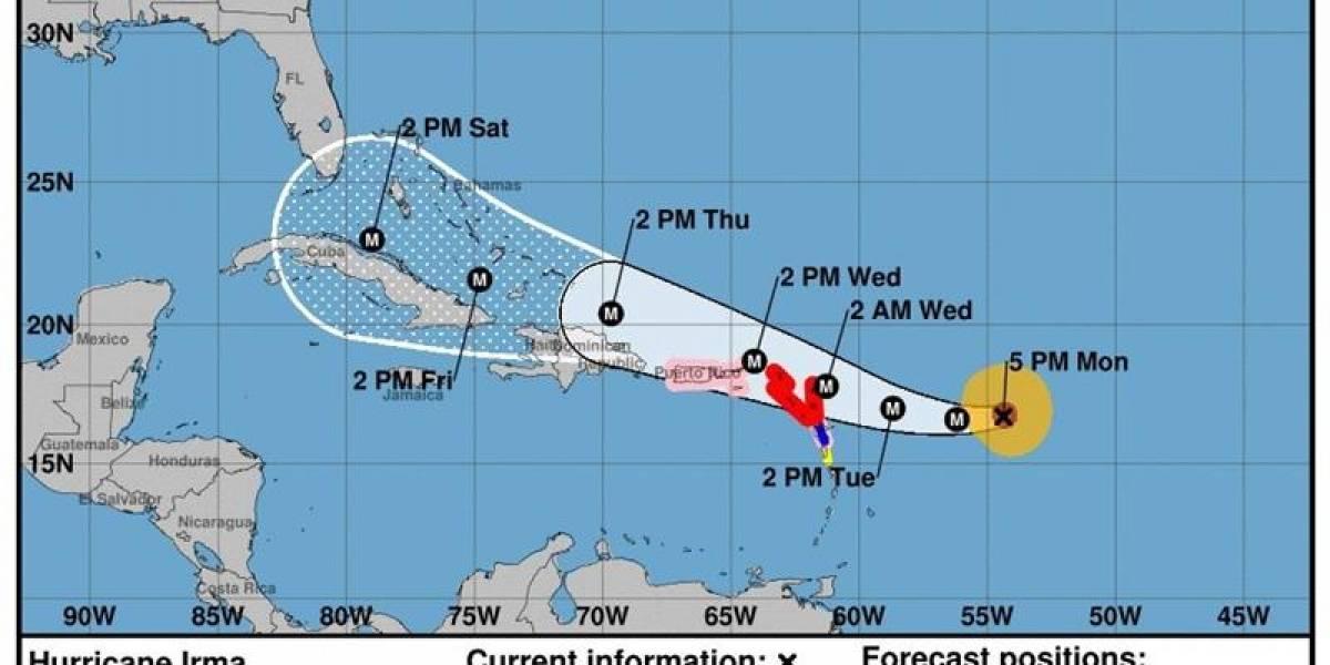 Huracán Irma: el segundo más intenso que se ha desarrollado en la cuenca del Atlántico