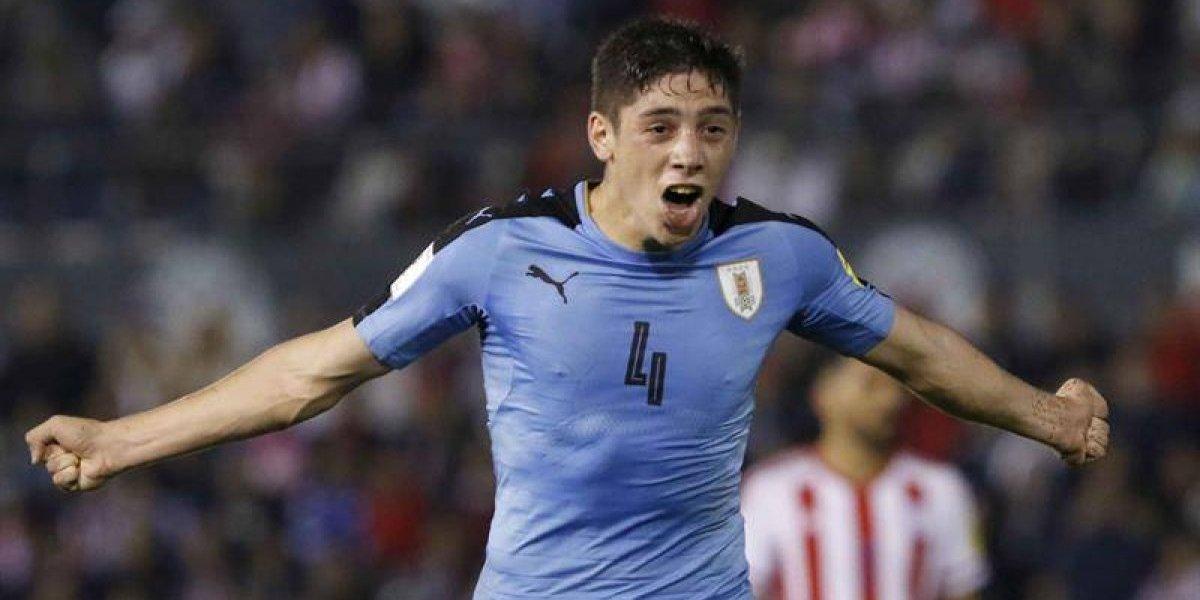 Uruguay venció por primera vez en Asunción y también jugó para La Roja en la tabla
