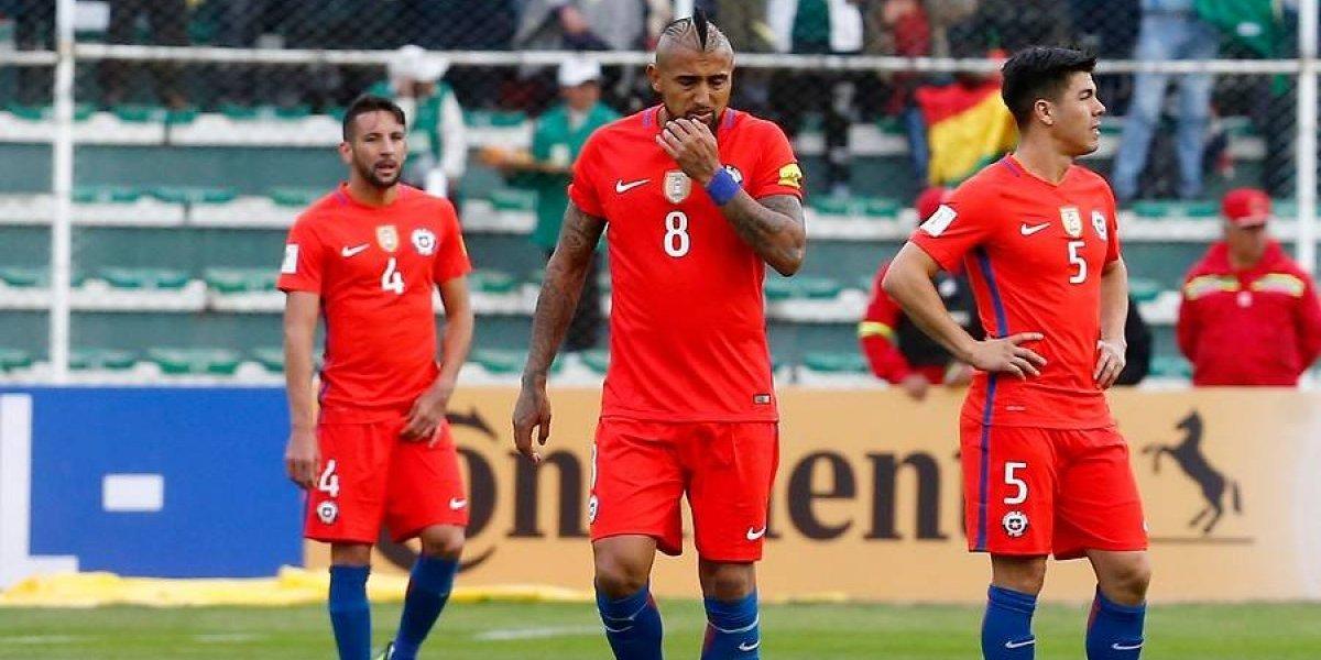 Uno a uno de Chile: un bicampeón de América perdido en la altura, sin ideas ni juego
