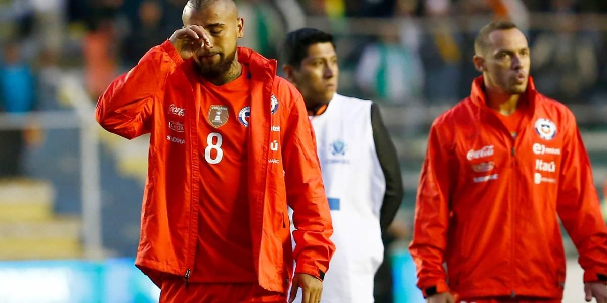 Las lágrimas de un guerrero: Arturo Vidal se fue llorando del estadio tras la dura derrota de Chile