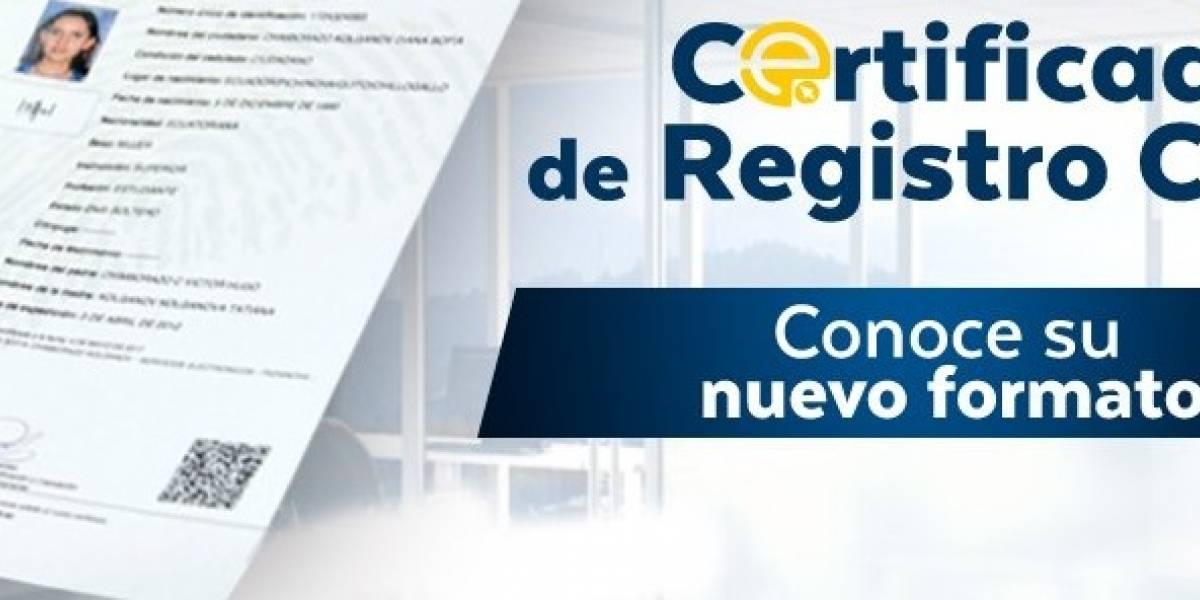 Registro Civil emite certificados en nuevo formato | Metro Ecuador