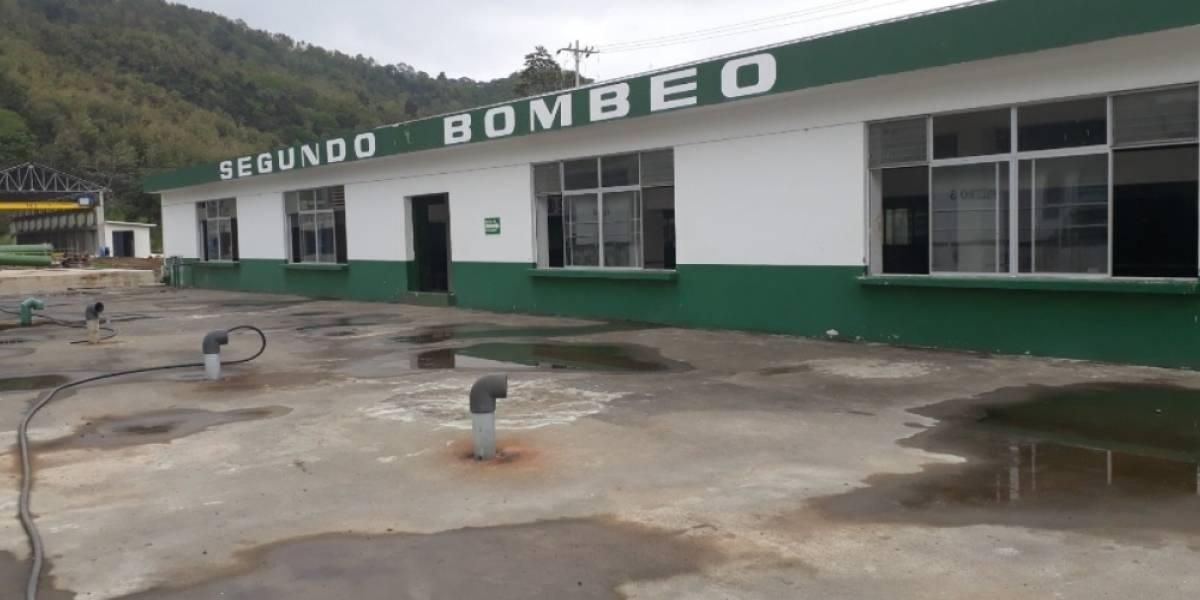 Daño eléctrico deja sin agua a habitantes de Esmeraldas
