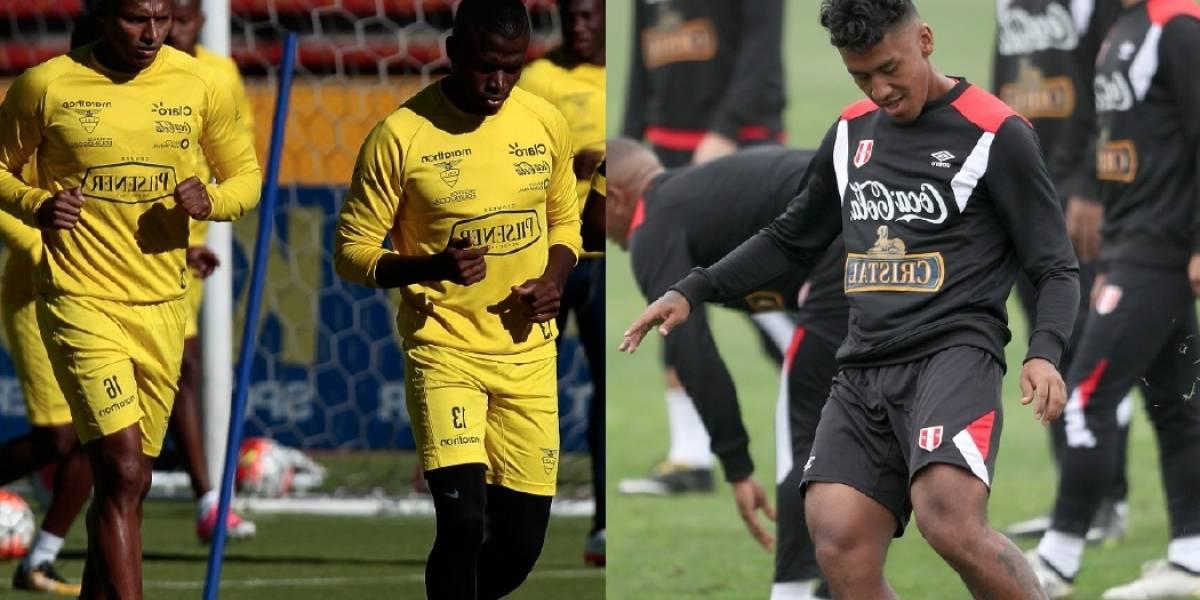 Ecuador vs. Perú: Horarios y canales de TV