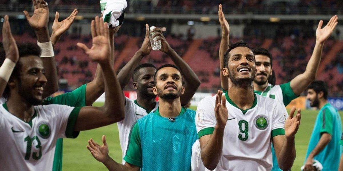 Resultado de imagen para arabia saudita gol