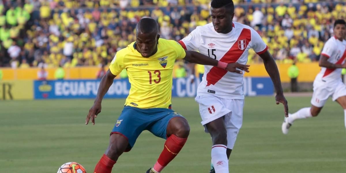 Ecuador perdió ante Perú en Quito