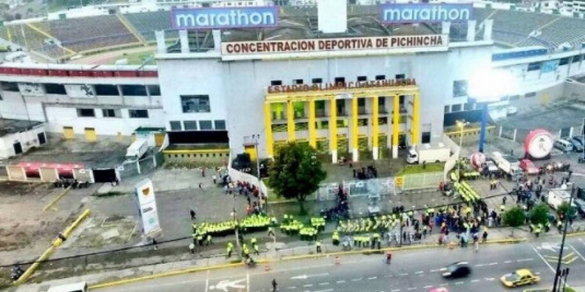 Este será el operativo de seguridad para Ecuador vs. Perú