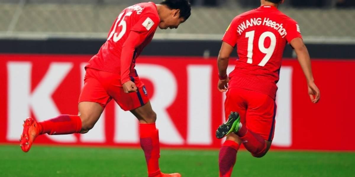 ¡Corea del Sur se clasifica para el Mundial de Rusia 2018!