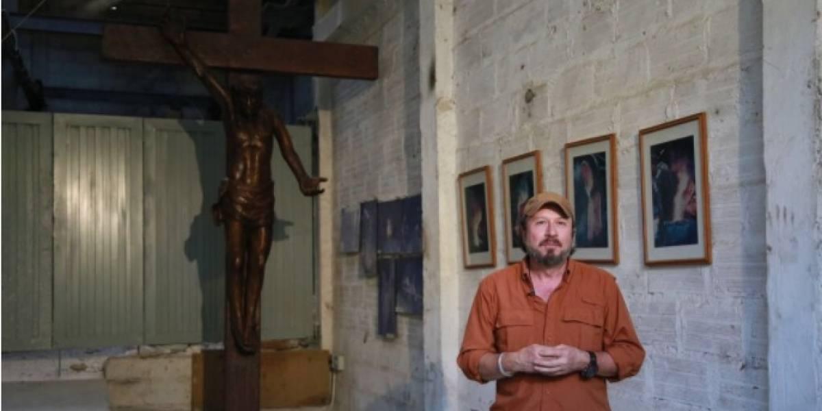 Crucifijo de 4 metros será símbolo de esperanza en misa del papa en Medellín